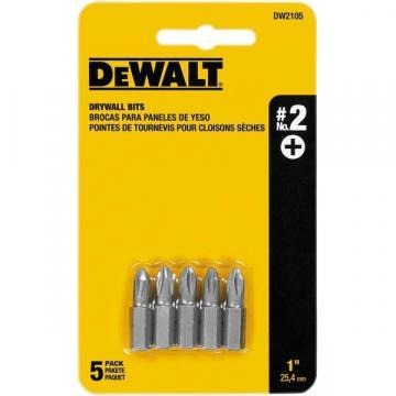 DeWalt #2 Phillips Bit Tips (5-Pack)