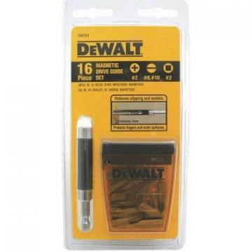 DeWalt Magnetic Drive Guides, 16-Pc. Set