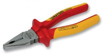 Duratool 180mm VDE Combination Pliers