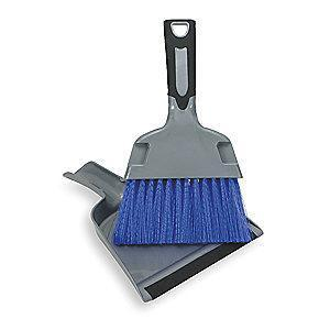 Tough Guy Polypropylene Dust Pan and Brush Set