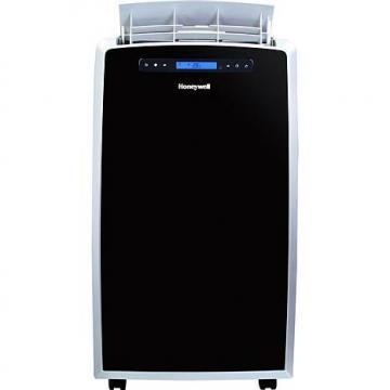 Honeywell 14,000-BTU, Portable Air Conditioner with Heat Pump - Black/Silver