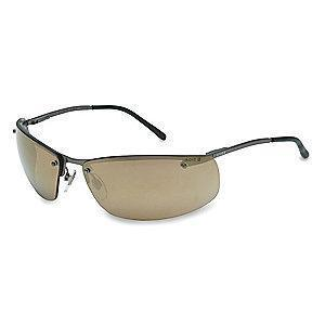 Honeywell Slate  Scratch-Resistant Safety Glasses, Gold Mirror Lens Color