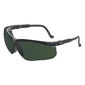 Honeywell Genesis Scratch-Resistant Safety Glasses, Shade 5.0 Lens Color
