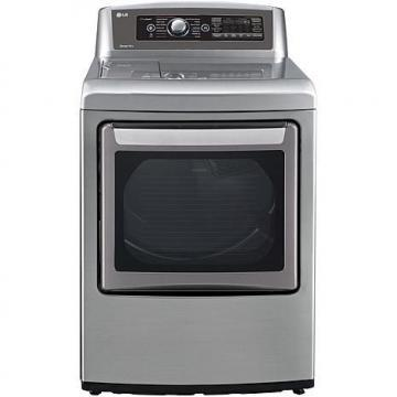 LG 7.3 Cu. Ft. Ultra-Large High-Efficiency Gas Steam Dryer - Graphite Steel