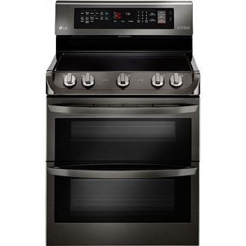 LG 7.3 Cu.Ft. Freestanding Electric Double Oven with Infrared Grill