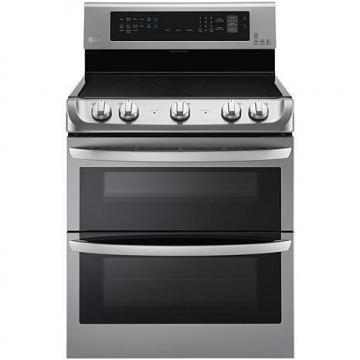 LG 7.3 Cu. Ft. Free-Standing Electric Double Oven with Infrared Grill