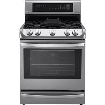 LG 6.3 Cu. Ft. Free-Standing Gas Oven with Griddle Plate