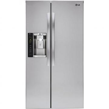 LG 26.2 Cu. Ft. Side-By-Side Refrigerator with SpacePlus Ice System
