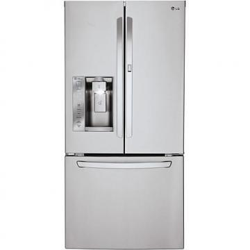 LG 24 Cu. Ft. 3-Door French Door Refrigerator with Door-in-Door