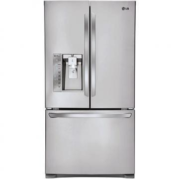 LG 24 Cu. Ft. 3-Door French Door Refrigerator with Smart Cooling Plus System