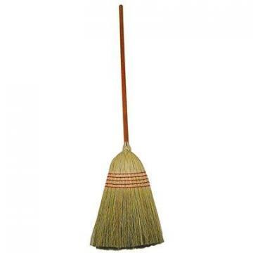 "Rubbermaid Lobby Corn Broom, 12"" Sweep"
