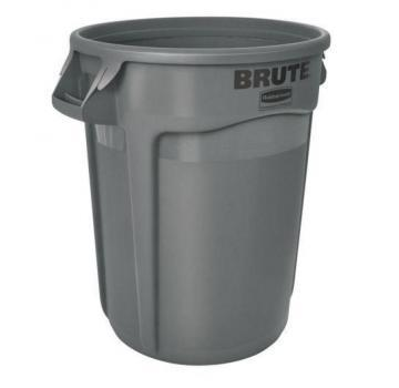 Rubbermaid 32 Gal Brute Trash Container