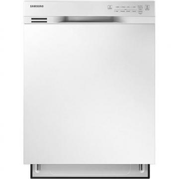 "Samsung 24"" Dishwasher with Hard Food Disposer - White"