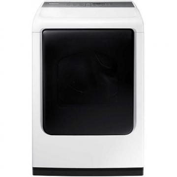 Samsung 7.4 cu. ft. Top-Load Electric Dryer with Multi-Steam Technology - White