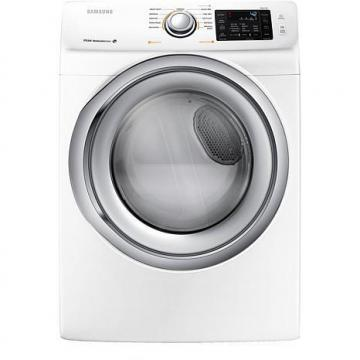 Samsung 7.5 cu. ft. Front-Load Electric Dryer with Sensor Dry, White