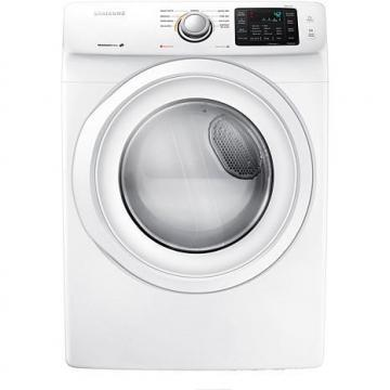 Samsung 7.5 cu. ft. Front-Load Electric Dryer with Smart Care Technology, White
