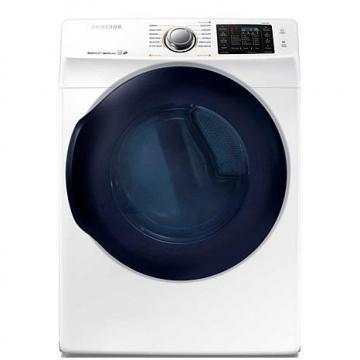 Samsung 6200 7.5 Cu. Ft. Front-Load Electric Dryer with Multi Steam - White