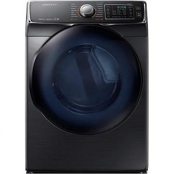 Samsung 7.5 cu. ft. 6500-Series Front-Load Electric Dryer, Black Stainless Steel