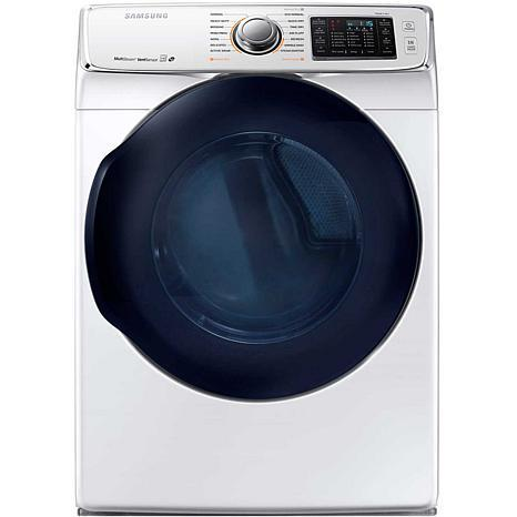 Samsung 7.5 cu. ft. 6500-Series Front-Load Electric Dryer, White