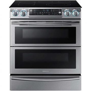 Samsung 5.8 Cu. Ft. Flex Duo Slide-In Electric Range, Stainless Steel