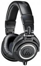 Audio-Technica ATH-M50X Professional Studio Monitor Headphones - Black