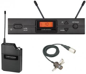 Audio-Technica UHF Lavalier (Cardioid) Wireless Microphone System - CH38