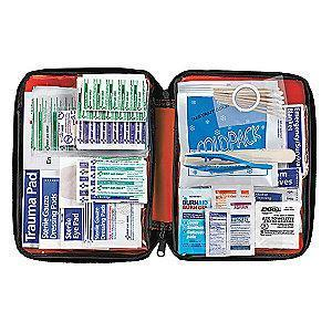 American First Aid Kit, PVC Case, Workplace, 10 People Served