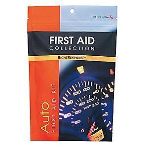 First Aid Only First Aid Kit, Plastic Case, Vehicle, 1 People Served