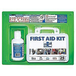 PhysiciansCare First Aid Kit, Plastic Case, General Use, 25 People Served