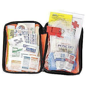 PhysiciansCare First Aid Kit, Fabric Case, General Use, 25 People Served