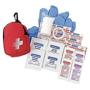 PhysiciansCare First Aid Kit, Fabric Case, General Use, 1 People Served
