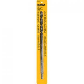"DeWalt 1/2 x 12"" High-Speed Steel Drill Bit"