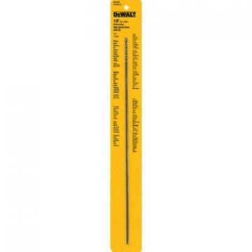 "DeWalt 1/8 x 12"" High-Speed Split-Point Steel Drill Bit"