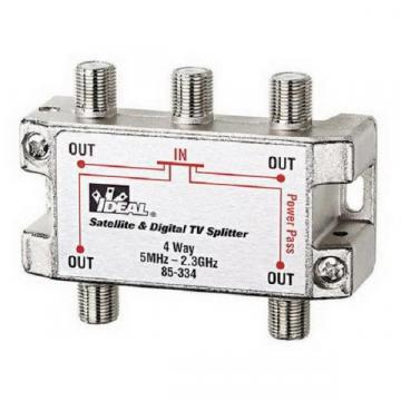 Ideal 4-Way HGTV/Satellite Splitter 2.3GHz