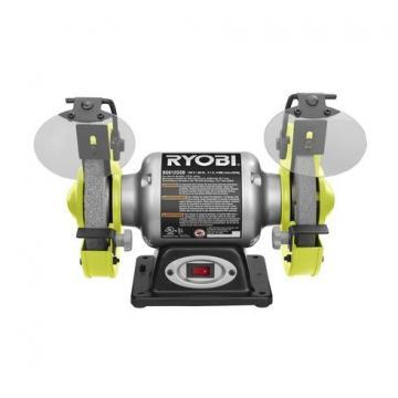 "Ryobi 2.1A 6"" Grinder with LED Lights"