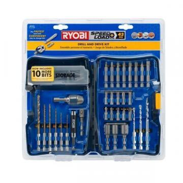 Ryobi SpeedLoad Plus Drill and Drive Kit (43-Piece)