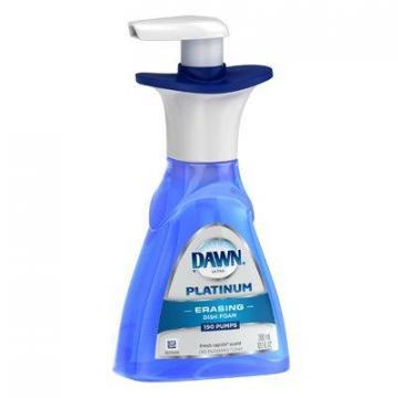 Dawn Platinum Dishwashing Foam, Fresh Rapids Scent, 10.1-oz.