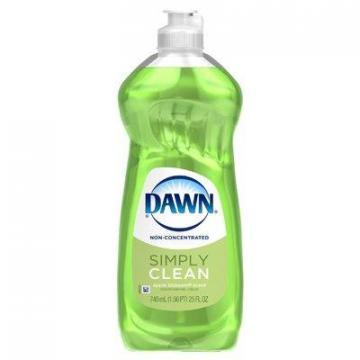 Dawn Dishwashing Liquid, Non-Concentrated, Apple Blossum, 25oz.