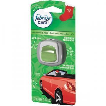 Febreze Car Vent Clip, Meadows & Rain
