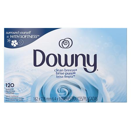 Procter & Gamble Downy Fabric Softener Dryer Sheets, April Fresh, 40-Ct.