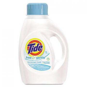 Tide Liquid Laundry Detergent, Free & Gentle, 50-oz.