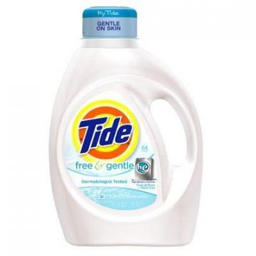 Procter & Gamble Tide HE Liquid Laundry Detergent, 100-oz.