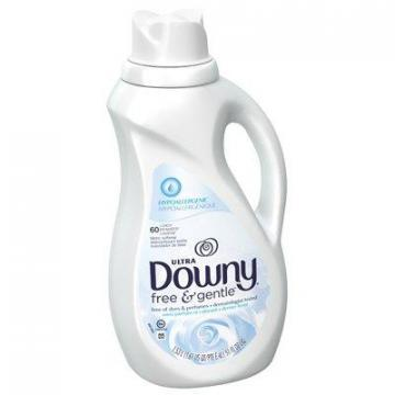 Procter & Gamble Downy Liquid Fabric Softener, Free & Sensitive, 51-oz.
