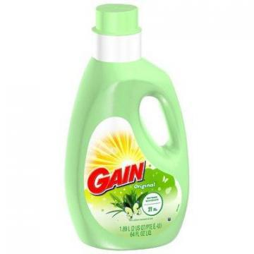Procter & Gamble Gain Fabric Softener, Original Scent, 64-oz.