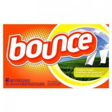 Procter & Gamble Bounce Fabric Softener Dryer Sheets, Outdoor Fresh, 40-Ct.
