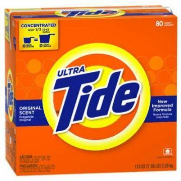 Procter & Gamble Tide High Efficiency Detergent, 56-oz.
