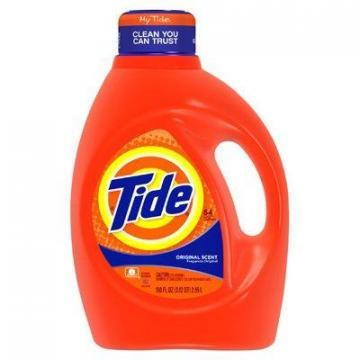 Procter & Gamble Tide Liquid Laundry Detergent, Original Scent, 100-oz.