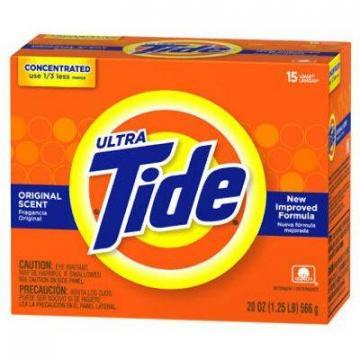 Tide Regular Scent Powder Detergent, 20-oz.