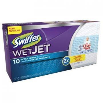 Procter & Gamble Swiffer WetJet Refill Pads, Extra Power, 10-Ct.