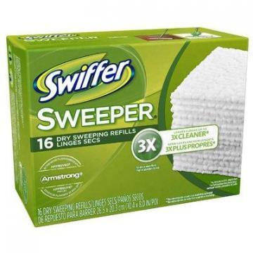 Procter & Gamble Swiffer 16-Count Disposable Dry Cloth Refills